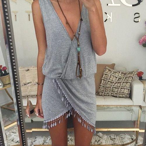 Kleid aus Tuch nähen