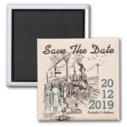 Wedding Express save the date Refrigerator Magnets