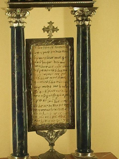 Spoleto, Szent Ferenc level