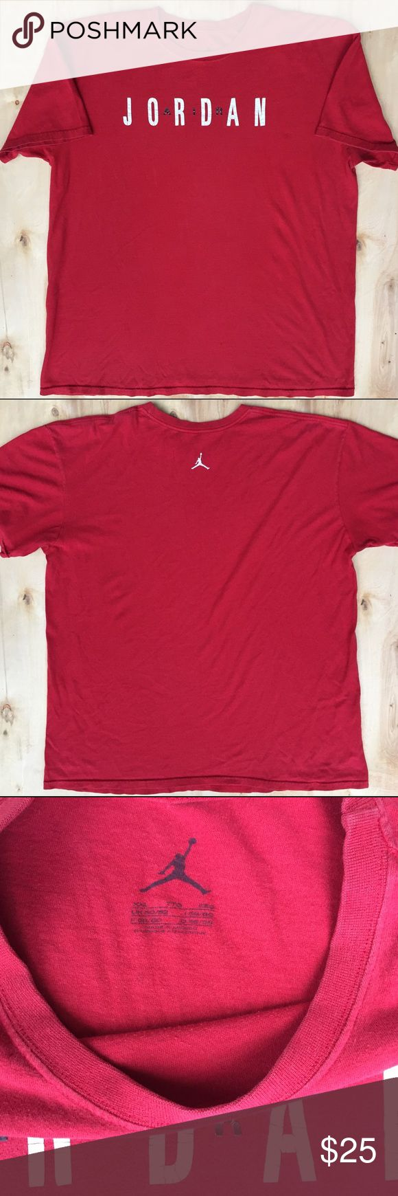 Air Jordan Chicago Bulls 90s vintage tee shirt XXL Cool vintage t Shirt a few pin holes and cracked letters for a retro look very rare Jordan Shirts Tees - Short Sleeve