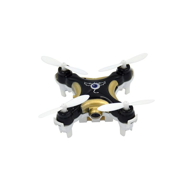 Cheerson CX-10C Nano Quadcopter - With a wingspan of 30 mm, this is one of the smallest drones available. The CX-10C is one of the lightest drones you can buy, weighing in at 15 grams