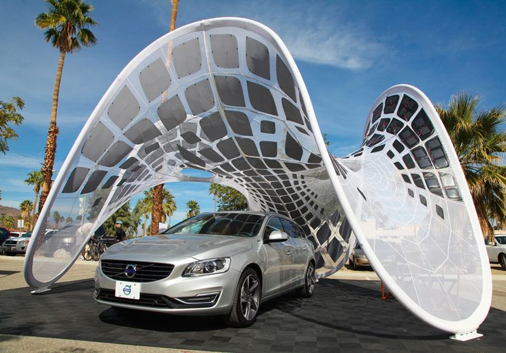 Creative tensile fabrics in architecture at:  http://info.aia.org/aiarchitect/2014/0808/images/0808_puretension1-4Web.jpg