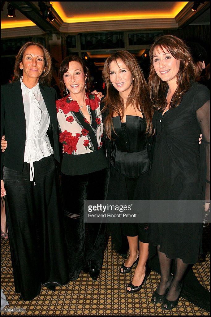 Christine Du Fretay, Helene Segara, Daniela Lumbroso at Dinner at Paviliion Ledoyen In Aid Of L'Association E-Enfance.