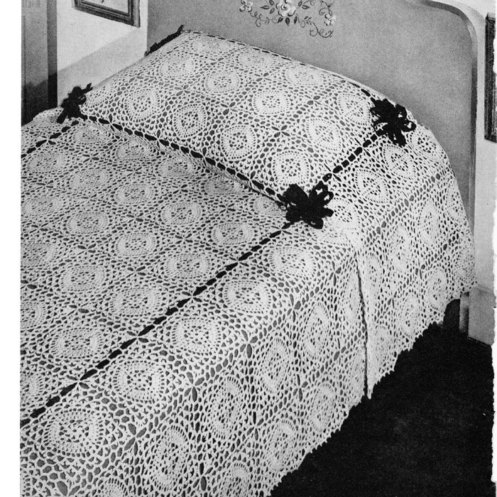 Outstanding Crochet Bedspreads Patterns Image - Blanket Knitting ...