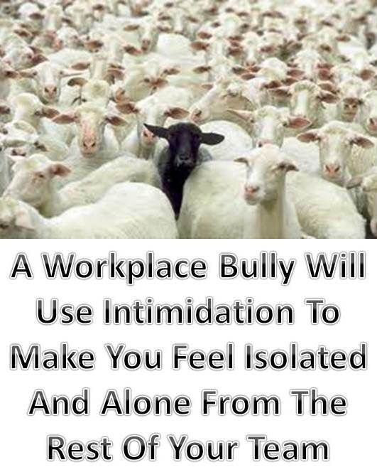 Have you ever had a situation at work where you were always the one singled out for ridicule, harassment or other types of intimidation? This can be a very stressful time and it makes you wonder why it is just you and if there is something wrong with you. This is NOT your fault! Find out how to rise above these bullying behaviors here: http://workplace-bully.com