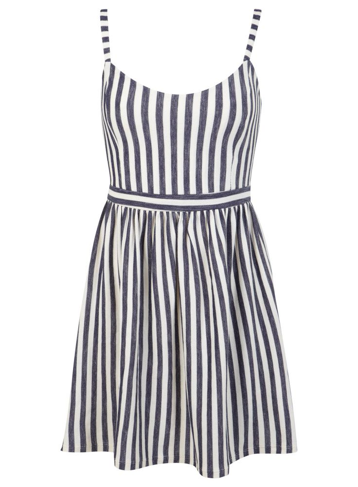 Miss Selfridge Petites Stripe Pinny Dress - cute summer dress