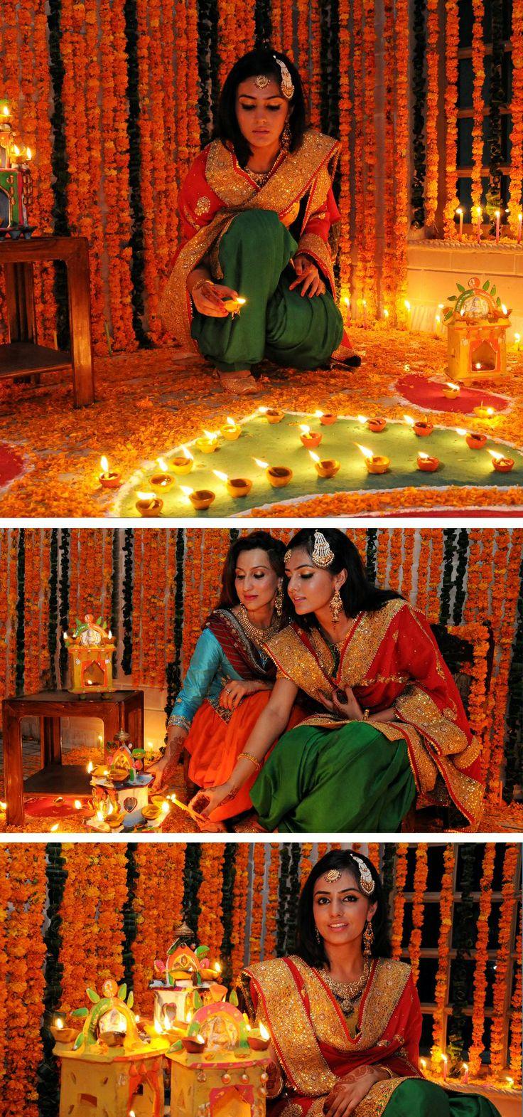 Mehndi celebrations in Pakistan
