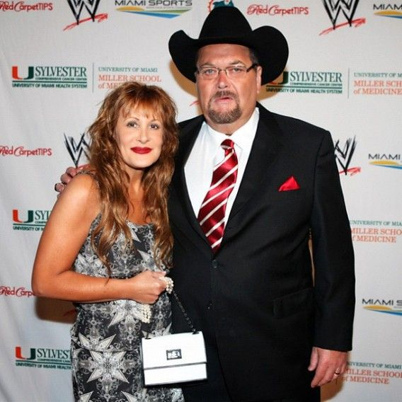 Image result for Jim Ross with wife