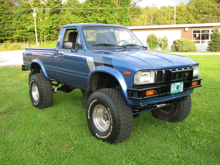 1979 1983 Toyota Pick Up 4x4 For Sale | Autos Post