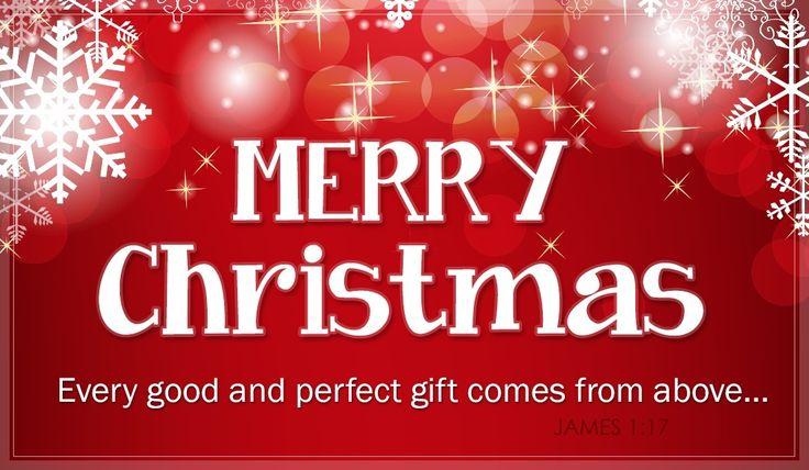 Merry Christmas - James 1:17