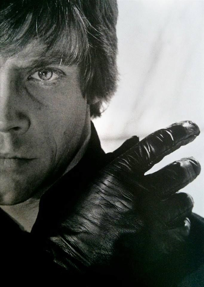 "Mark Hamill as 'Luke Skywalker' in ""Star Wars Episode VI: Return of the Jedi"""