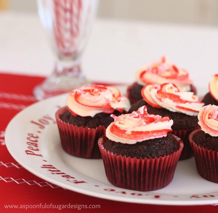 Candy Cane Cupcakes Recipe
