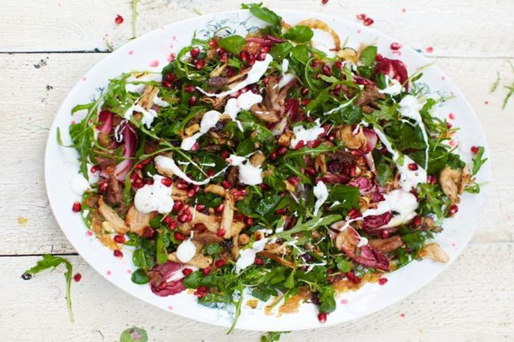 A quick turkey salad to start up your week | cuccina.me #salads #turkeysalad #recipe