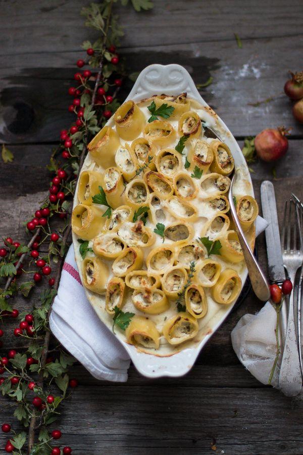 Paccheri al forno con funghi e ricotta per Taste&More n. 17 | Smile, Beauty and More