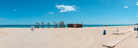 Playa San Juan, Alicante (España).