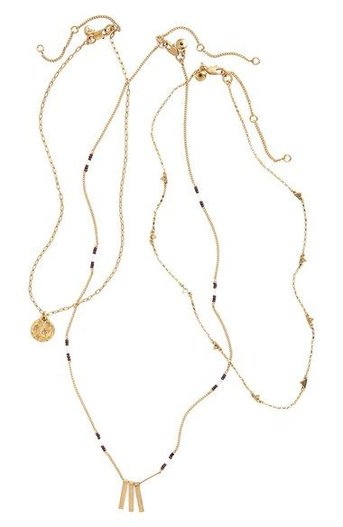 Madewell Set of 3 Necklaces available at #Nordstrom