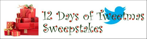 For the next 12 days, we'll be giving away a gift each day to one or more of our Twitter followers, including a $1,000 cash prize.