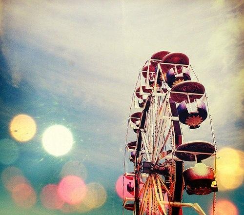 feris wheel bokeh