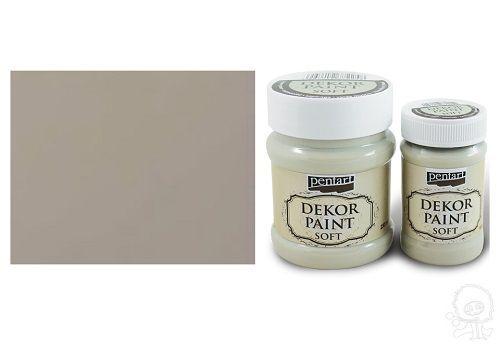 Dekor Paint Soft - Mandula, Mandula színű visszacsiszolható vízbázisú festék. Kopottas hatás eléréséhez ideális. Lakkozás vagy viaszolás ajánlott! FIGYELJ A KISZERELÉS - MÉRET VÁLASZTÁSRA! 100ml, 230ml kiszerelésben kapható., Kreatív hobby termékek, minőségi, válogatott alapanyagok - kézzel készített ajándék ötletek - törzsvásárlói és csomagkedvezmények - ingyenes szállítás