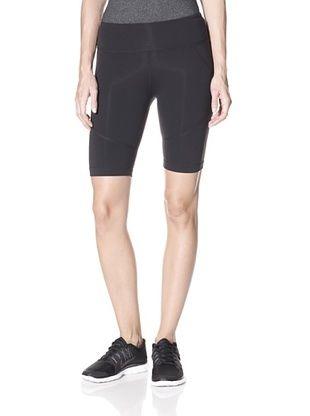 50% OFF Zobha Women's 360 Short (Black/Black)