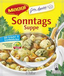 -in USA- Maggi Sunday Soup - Made in Germany