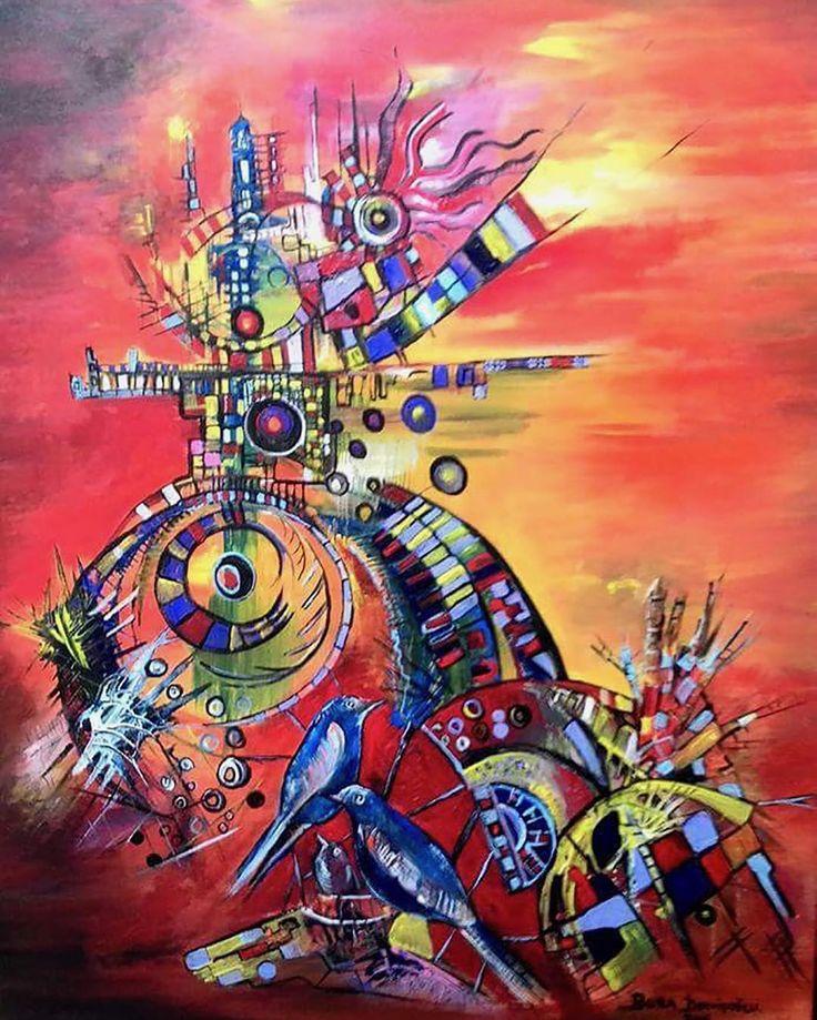 Kuş Rüyası - 47 / Bird Dream - 47 #Tuval üzerine #Akrilik / #Acryliconcanvas 60cm x 80cm 5.800₺ / 1.600$  http://gallerymak.com/tr/urun/21/resim/3655/kus-ruyasi-47.html  #gallerymak #sanat #ig_sanat #resim #tablo #sergi #ressam #resimsergisi #sanateseri #cagdassanat #modernsanat boradervisoglu #kuş #kübizm #kubizm #bird #cubism #cubist #artgallery #contemporaryart #painting #artlovers #artcollectors #acrylicpainting #masterpiece…