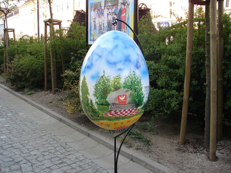 Pomaluj swoje Miasto   Inspirowani Naturą I easter decor for city spaces I terra