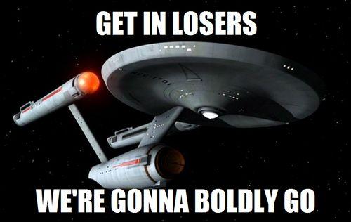 Mean Girls Star Trek. hahaha