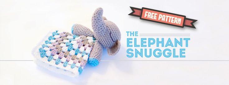 Amigurumi Elephant Snuggle : 1000+ images about haken on Pinterest Free pattern, Baby ...