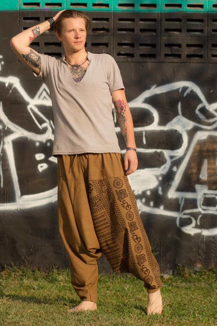 "Authentic yet comfortable our Om pants are great for anyone who enjoys yoga, dance, meditation or any other activity that requires you to move freely. In Thai language, Om is translated as ""Unalom"" or"