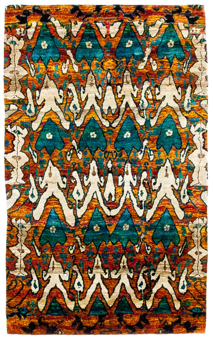 Noa Fantasy Collection X This Of Modern Rugs Are Hand Knotted With A Silk Pile And Made From Recycled Saris