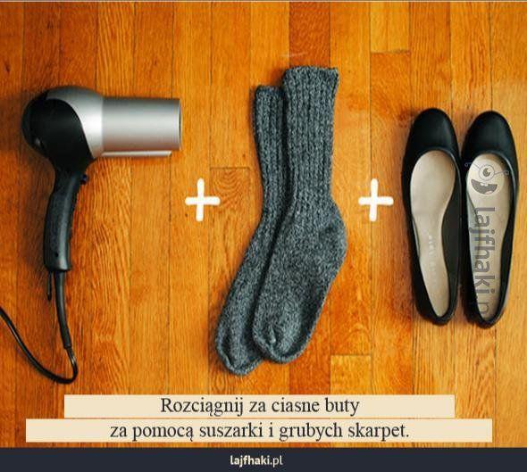 Sposób na za małe buty - pomysły, triki, sposoby, lifehacki, porady