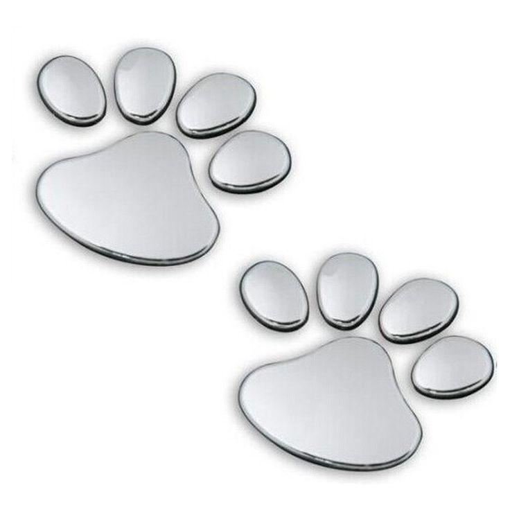 Tiptop NEW Pet Animal Paw Footprints Emblem Car Truck Decor 3D Sticker Decal Free Shipping L607♦️ SMS - F A S H I O N 💢👉🏿 http://www.sms.hr/products/tiptop-new-pet-animal-paw-footprints-emblem-car-truck-decor-3d-sticker-decal-free-shipping-l607/ US $0.34