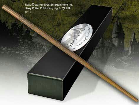 James Potter's wand