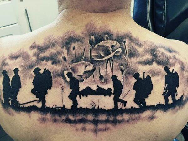 Top 101 Best Military Tattoo Ideas 2020 Inspiration Guide Military Tattoos Military Sleeve Tattoo Army Tattoos
