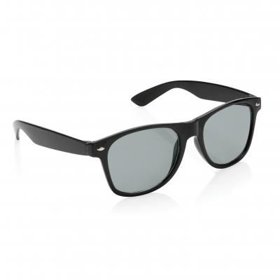 Image of Promotional Swiss Peak Fashion Sunglasses With UV400. Black