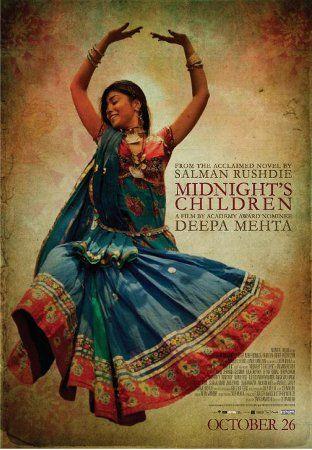 """Cine. """"Midnight's children"""" ( 2012) Dir. Deepa Mehta. Narrador: Salman Rushdie. Película canadiense e estadounidense de Deepa Mehta. La película es una adaptación del libro """"Hijos de la medianoche"""" de Salman Rushdie. El título preliminar fue Winds of Change.  https://www.youtube.com/watch?v=zircAqna3sc https://www.youtube.com/watch?v=IXgx6C8PHd4"""