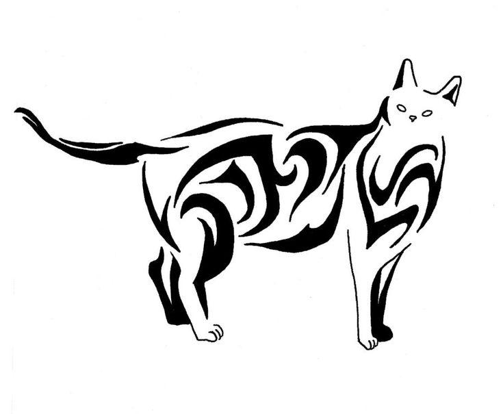 Cat Cute Tattoos Example
