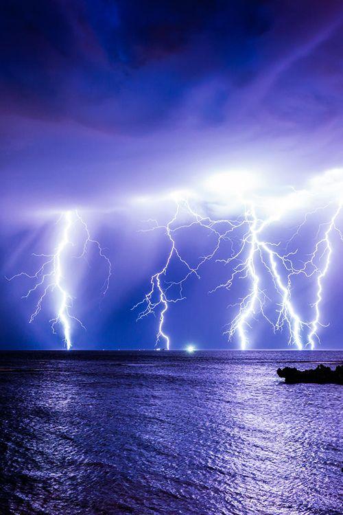 Sea Storm - Bali - Indonesia