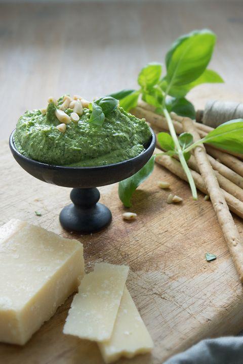 Ohhh... Mhhh... | Heute mit Birgit Hahn von Garn und Mehr, die das Rezept für ihr köstliches Basilikum-Pesto mit Schafskäse verrät. Schnell gemacht, schnell verputzt!