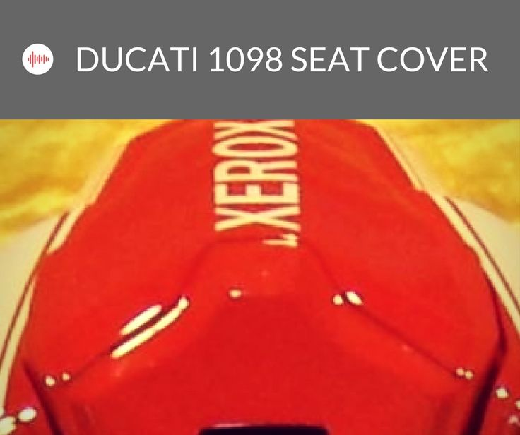 Ducati 1098 Seat Cover http://www.motocc.co.uk/acatalog/Ducati-1098-Seat-Cover.html hese Pillion Covers are made via the Injection Mould Process. This means that they fit exactly like the OEM version  We can provide these in any color or scheme you require.  #motocc #motoccuk #motorcyclefairings #motorcyclebodywork #hondafairings #UnitedKingdom #UK