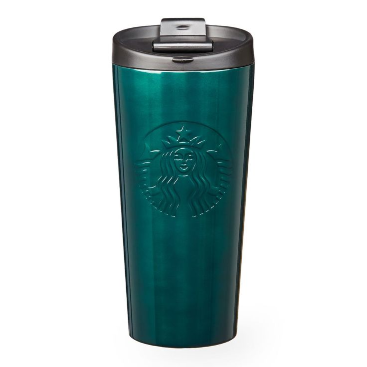 A Double Walled Stainless Steel Coffee Tumbler With A