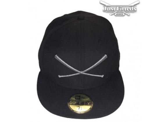 7d6676b221e Logo Anniversary 59Fifty Fitted Baseball Cap by JUST FITTEDS x NEW ERA