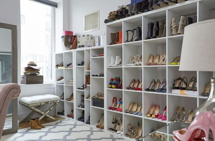 shoe closet - At Home with Joss and Main | Something Navy