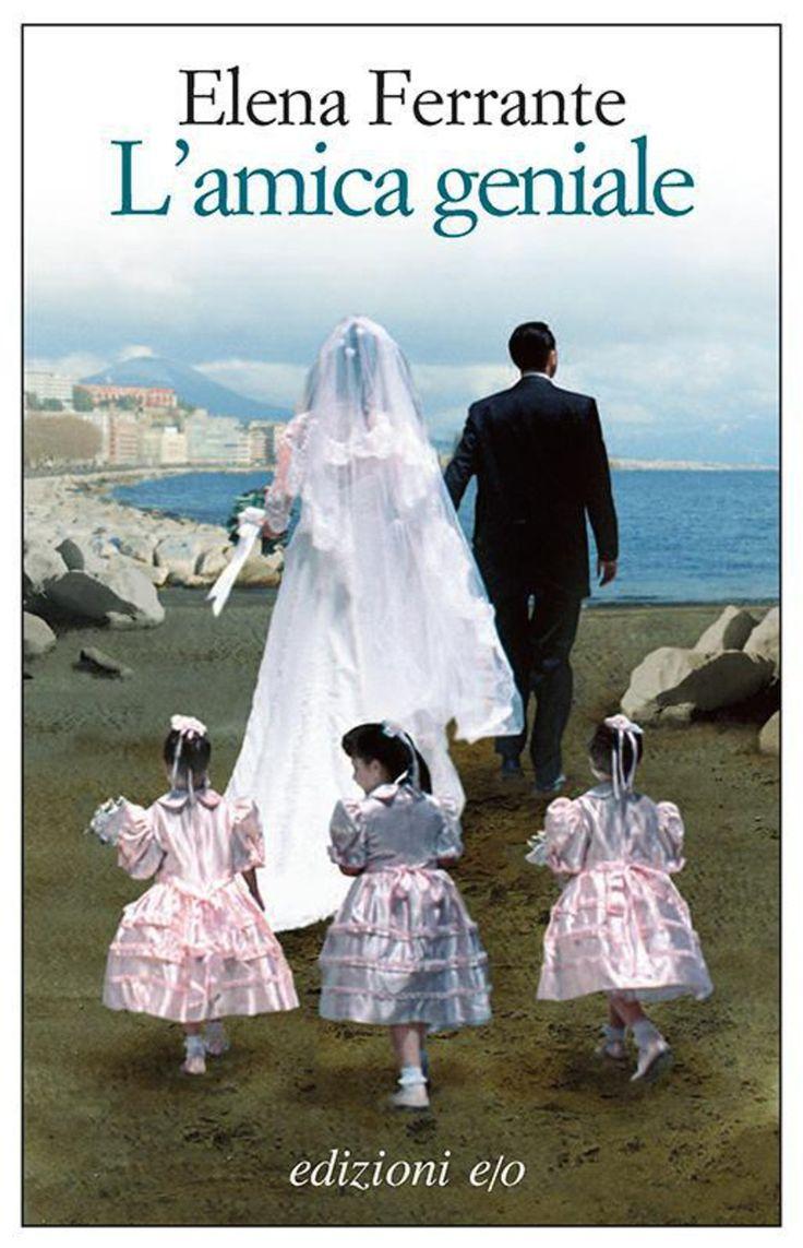 """Elena Ferrante, """"L'amica geniale"""" ammetto di aver fatto fatica all'inizio, ho amato poco la scrittura ma molto la storia che a questo punto devo proseguire. #napoli"""