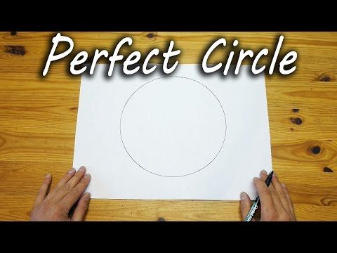 ▶ How to Draw a Perfect Circle Freehand - YouTube