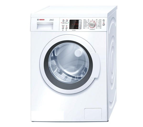 Buy BOSCH Exxcel 8 WAQ28461GB Washing Machine - White | Free Delivery | Currys