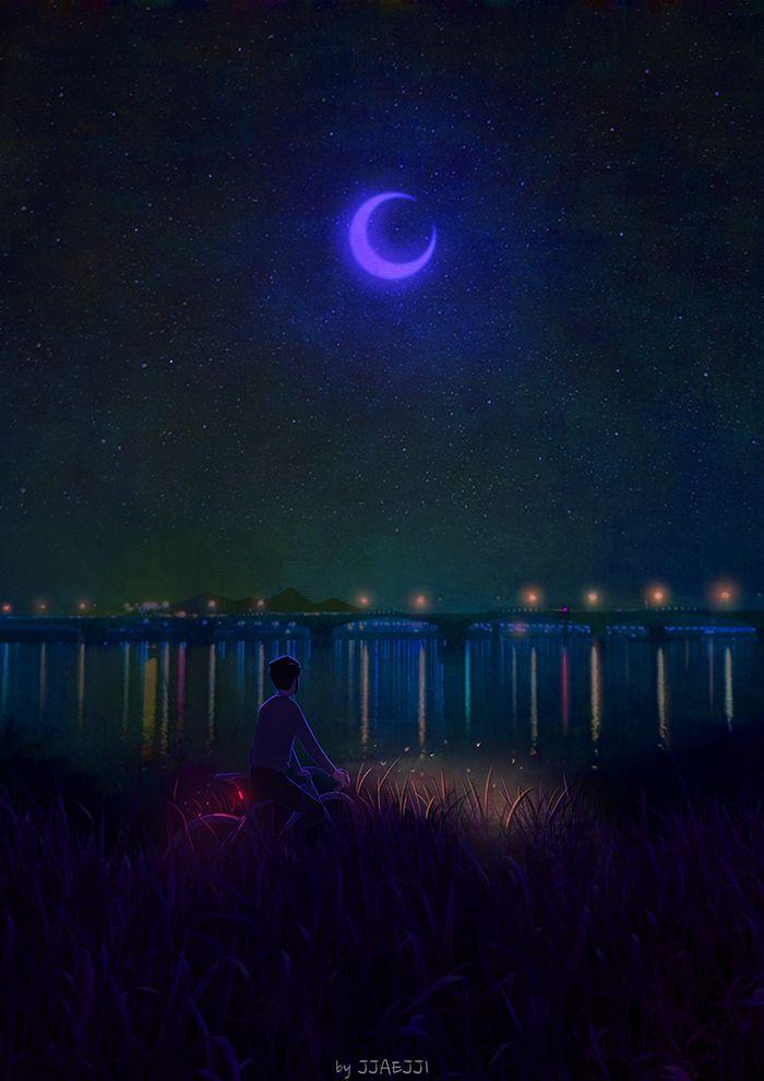 푸른밤(Blue Night)