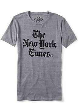 New York Times Stacked Tee Shirt