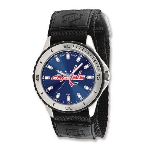 Mens NHL Washington Capitals Veteran Watch Jewelry Adviser Nhl Watches. $28.00. Save 60% Off!